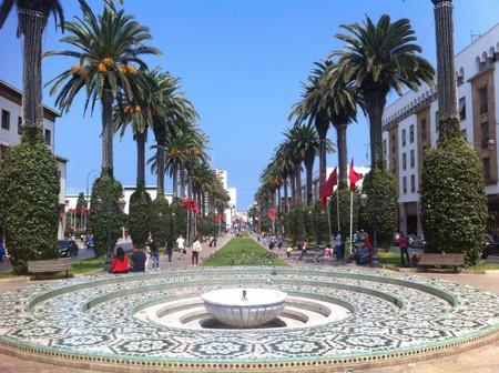 Avenue_Mohammed _V_Rabat