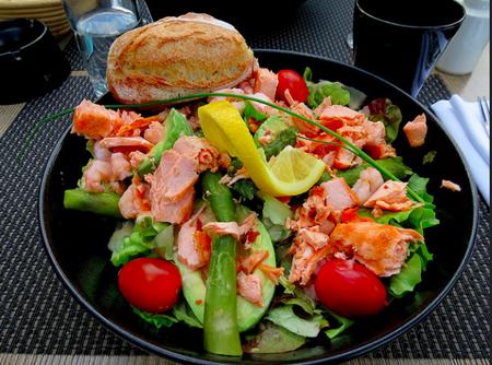 Salmon and Avocado ©Stewart Holmes