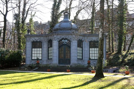 The pavilion in Wolvendael Park | © Michel Wal/WikiCommons