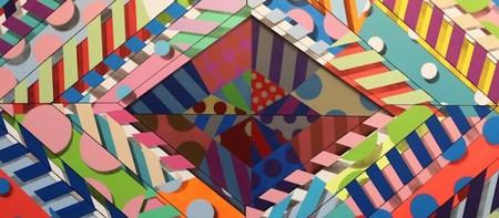 "Jason Woodside ""Sea 6"" 2015 52 x 60 inches   © Street Art Anarchy Gallery"
