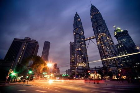 Kuala Lumpur City Centre on the night | © Pixabay