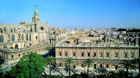 Cathedral and Archivo de Indias | ©  Seville Tourism Bureau/WikiCommons