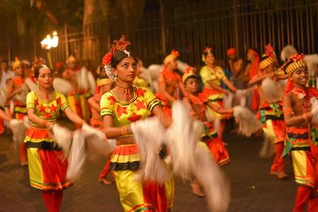 Participate in a festival while visiting Sri Lanka