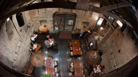 Gristmill River Restaurant & Bar   © Nan Palmero