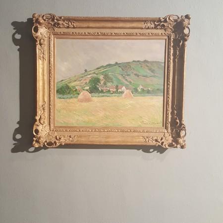 Claude Monet's 'Environs de Giverny' | Photo Courtesy of Pontia Fallahi