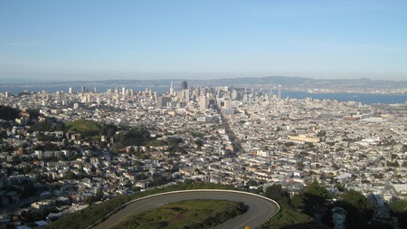 Twin Peaks provides incredible panoramic views of San Francisco