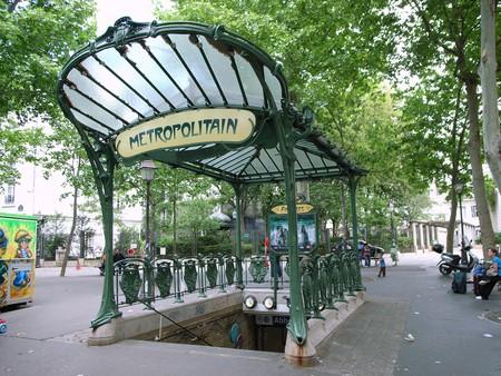 Parisian metro station
