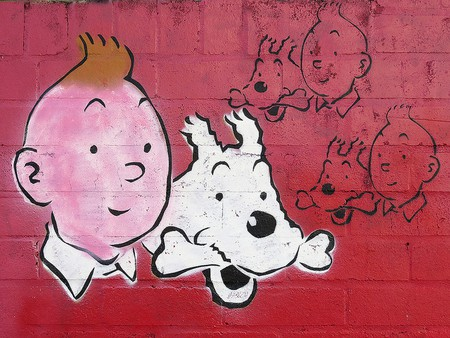 Tintin and Snowy | © Newtown graffitti/Flickr