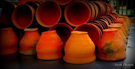 Clay Tea Cups   © Sutirth Dasgupta