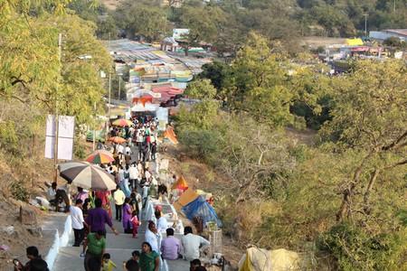 People gather at the yatra|  © Sunita Mudaliar