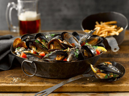 Mussels| Courtesy of  Black Powder Tavern
