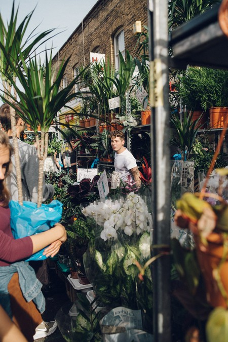 East London's Columbia Road Flower Market is a local favourite