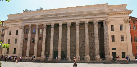 Temple of Hadrian in Rome | © Jensens/WikiCommons