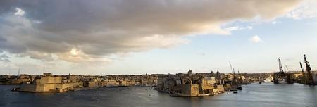 Valletta harbour view with clouds  © DG EMPL /flickr