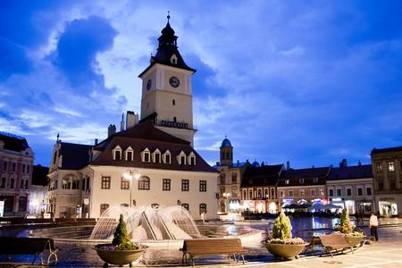 Brasov city center |© Constantin Barbu / Wikimedia Commons