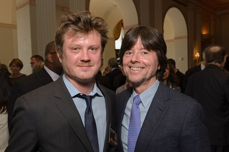 Beau Willimon and Ken Burns | © Peabody Awards/Flickr