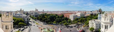 View to the east from Palacio de Cibeles | ©  Jose Antonio Moreno Cabezudo