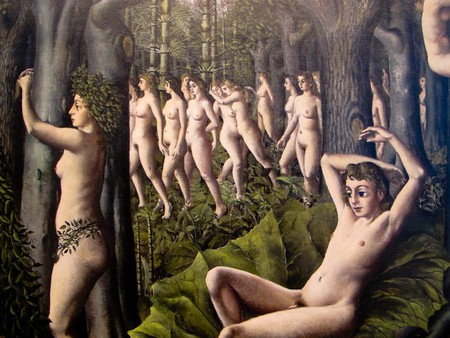 Paul Delvaux Belgian, 1897–1994 The Awakening of the Forest, 1939 | © Ed Bierman/Flickr