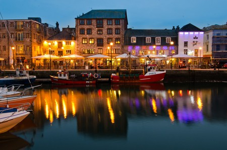 Plymouth Barbican at Night | © Gerry Machen/Flickr