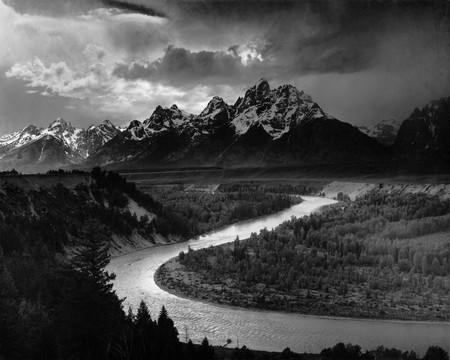 The Tetons and the Snake River (1942) Grand Teton National Park, Wyoming | © Ansel Adams