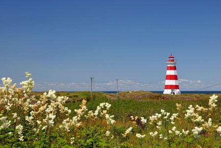 Brier Island Lighthouse | © Dennis Jarvis