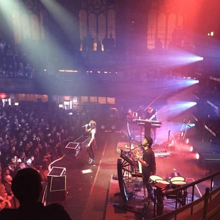 Chvrches at Albert Hall | © Miranda Wade