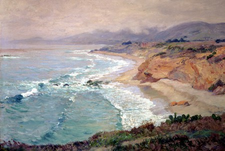 Lifting Fog by Guy Rose, The Irvine Museum | © Irvine Museum/WikiCommons