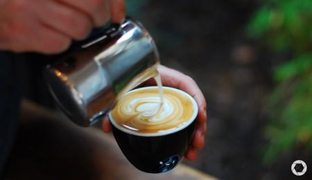 Latte art at Kolonel Koffie   Courtesy of Kolonel Koffie