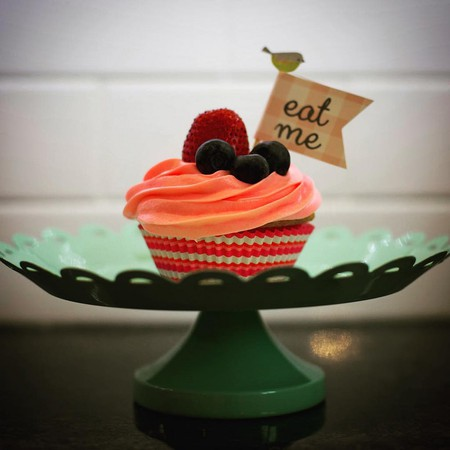 Pimm's Cupcake? Don't mind if I do! It's always Pimm's O'clock!  © Besty Weber/flickr