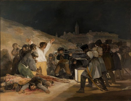 Francisco Goya, The Third of May 1808, 268 x 347 cm, 1814, Museo del Prado | © Papa Lima Whiskey 2/WikiCommons