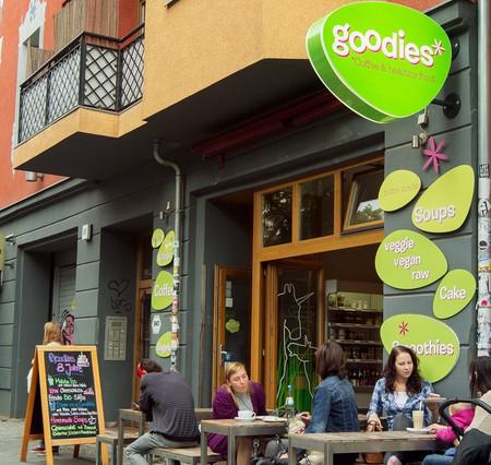 Friedrichshain is a wonderland for vegetarians and vegans   Courtesy of Goodies
