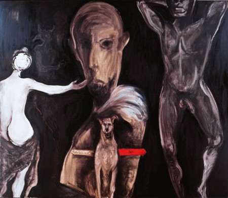 A refocilarse con el negro by Sofia Gandarias | Courtesy  of Gandarias.es