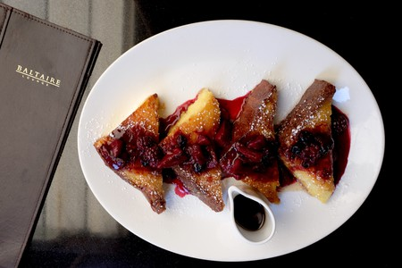 Caramelized Brioche French Toast Courtesy of Baltaire