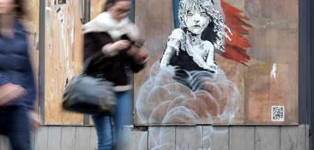 The new Banksy mural | ©Newonce