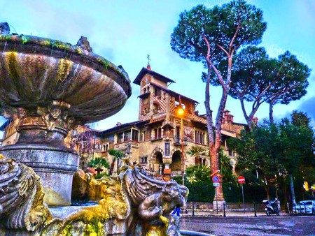 The Fountain of the Frogs and the Little Fairy Villa | Courtesy of Camilla Colavolpe