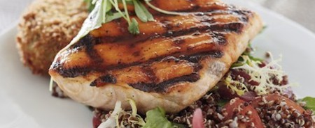 Grilled salmon | © Janet Kimber (via Diwan)