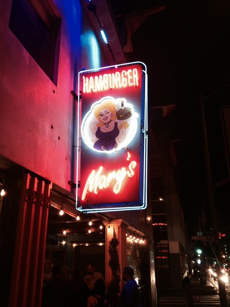 Hamburger Mary's flaunts its drag theme