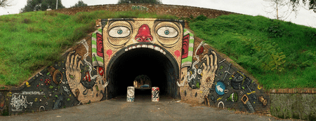 Mr. Thoms, Tunnel del Quadraro | Courtesy of Ilaria Ingravalle