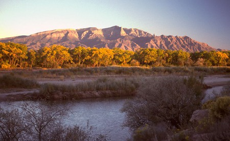 The Sandia Mountains from Rio Rancho | © G Thomas/WikiCommons