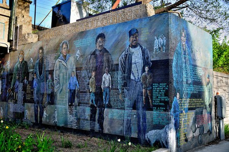 'Where We Come From, Where We're Going' mural | © Vxla/Flickr