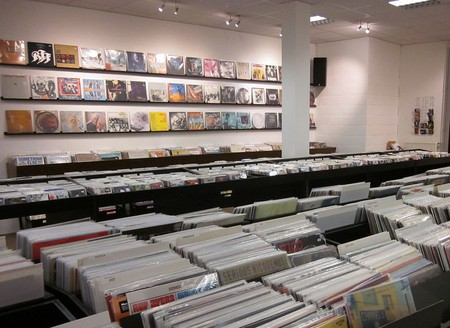 The collection at Fatkat Records | Courtesy of Fatkat Records
