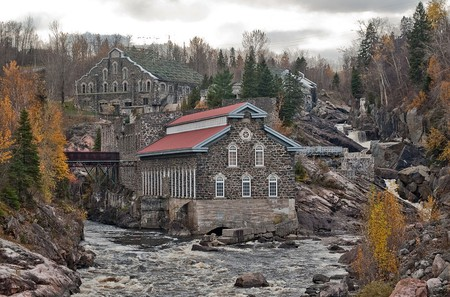 Old Chicoutimi Pulp Mill | © Chicoutimi/WikiCommons