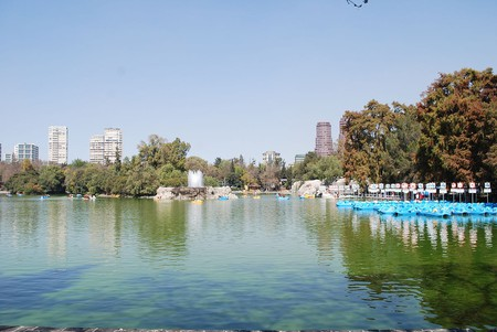 View of the Lago Menor at Chapultepec Park in Mexico City | © Thelmadatter / WikiCommons