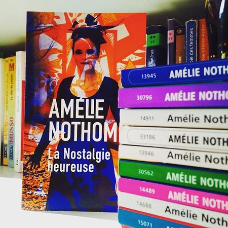 Nothomb's books|© happy_bookaholic|Instagram