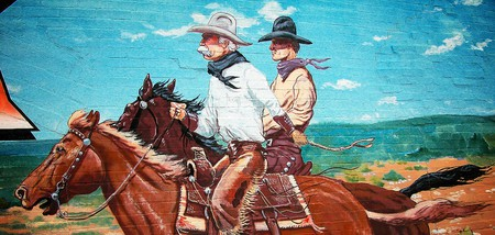 Stockyards Mural | © David/Flickr