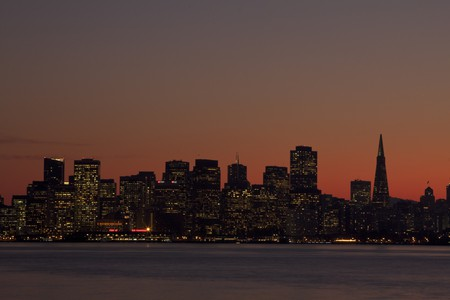 San Francisco Sunset © David Spencer/Flickr
