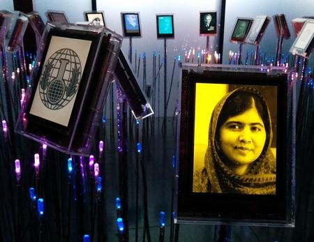 Portrait of Malala Yousafzai  at the Expo at the Nobel Peace Center | © Jeblad/WikiCommons