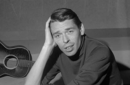 Jacques Brel in TV-programma Domino *21 maart 1962