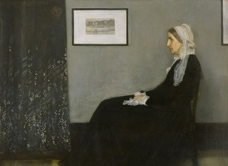 Whistler, Arrangement in Grey and Black No. 1, 144.3 x 162.5 cm, Musée d'Orsay, 1871 | © Whoisthemother/WikiCommons
