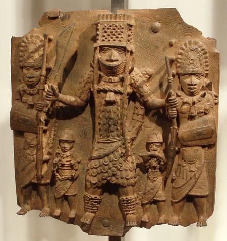 Benin Plaques at the British Museum | © DAVID HOLT/Flickr